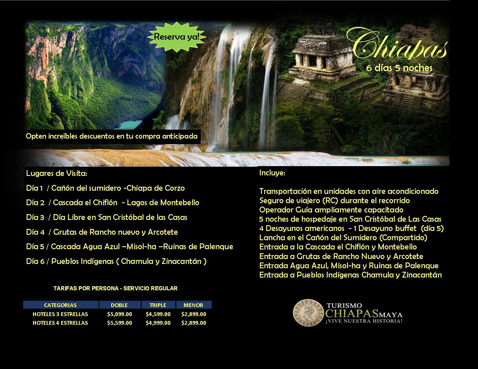 Foto de Agencia de Viajes & Tour Operador  - Turismo Chiapas Maya
