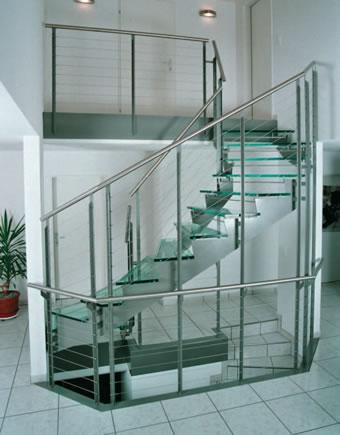 Biselados de los altos arandas for Escalera aluminio pequena