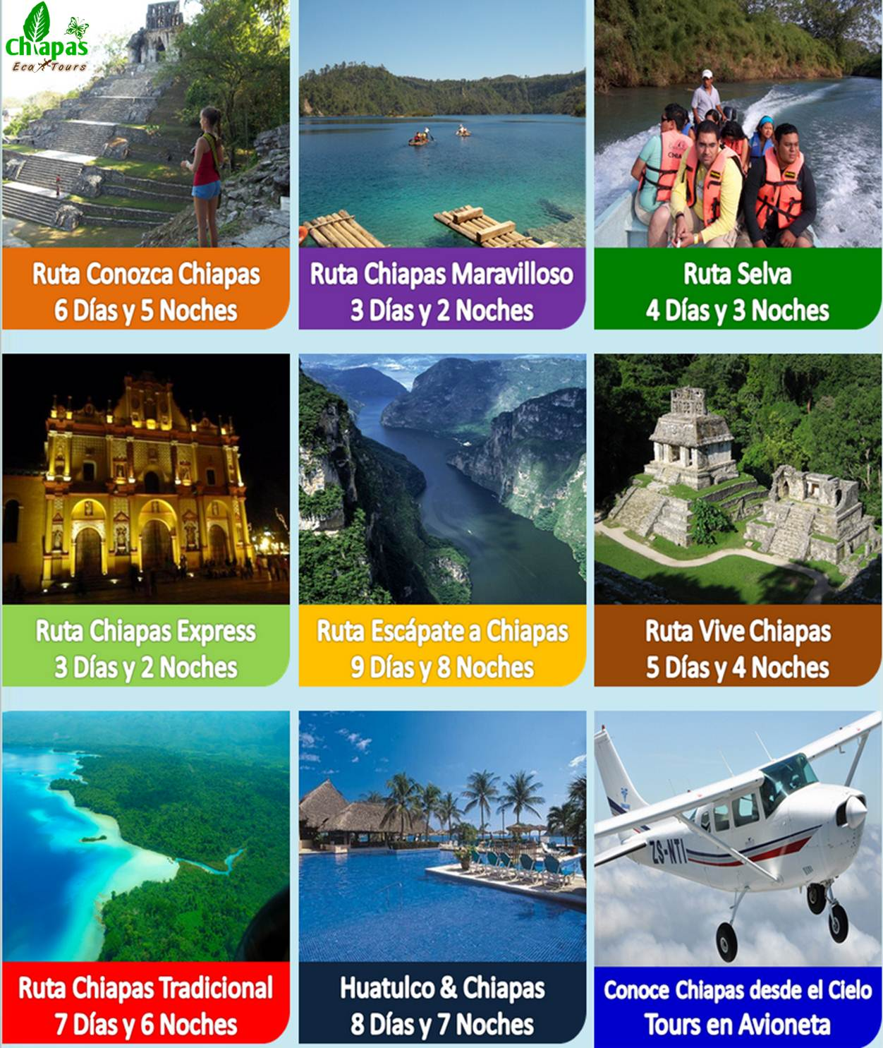 Chiapas Eco Tours Tuxtla Gutiérrez