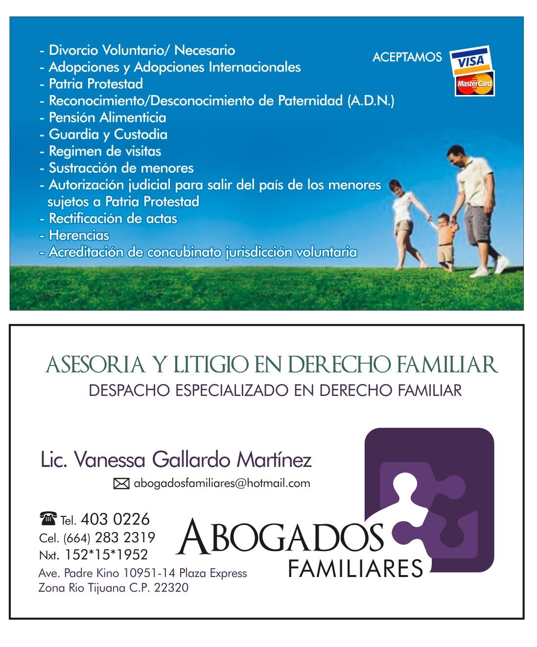 Despacho especializado en derecho familiar tijuana for Derecho de paternidad