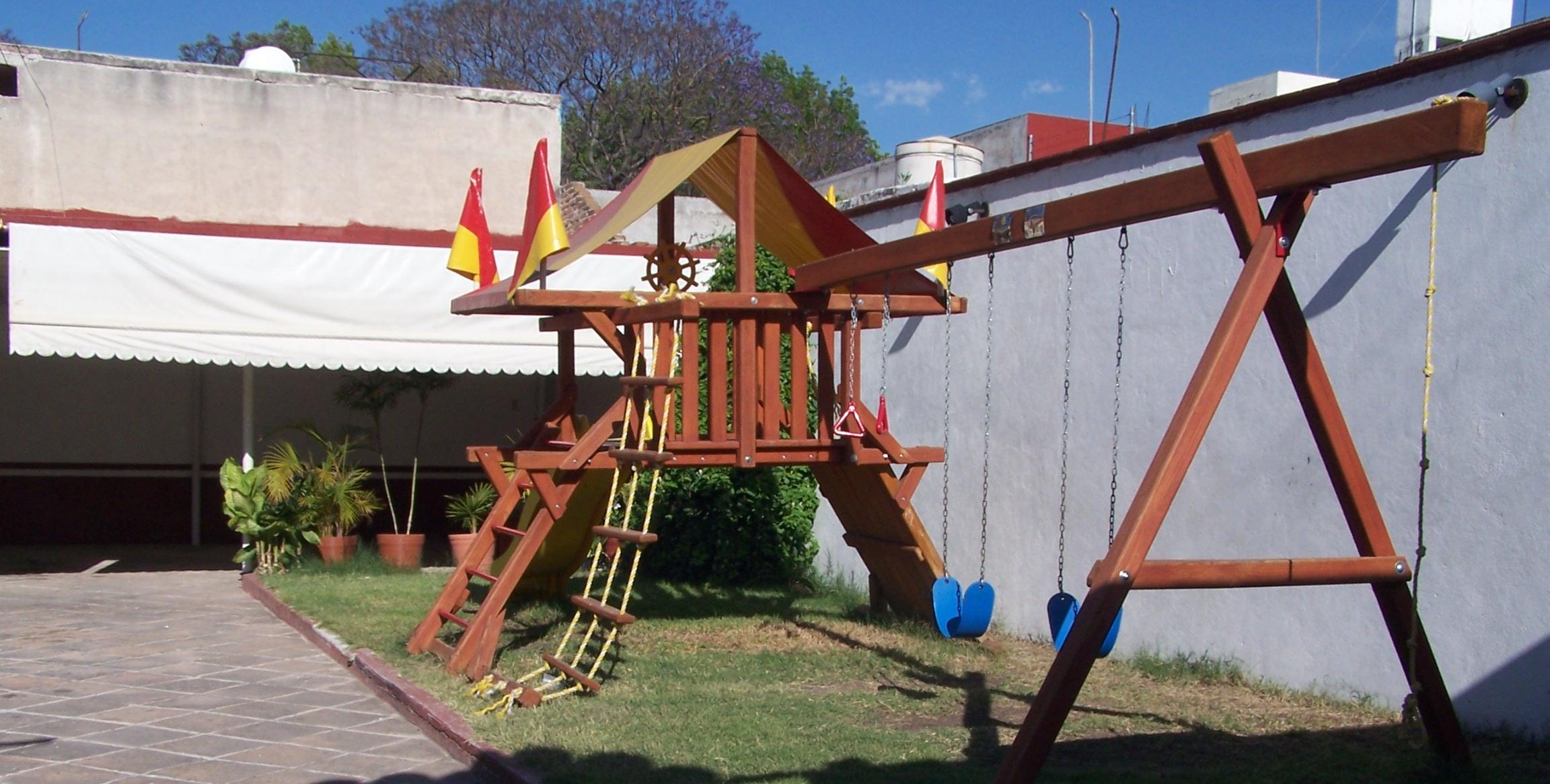 El patio de mi casa cimatario jard n de fiestas for Casa infantil jardin