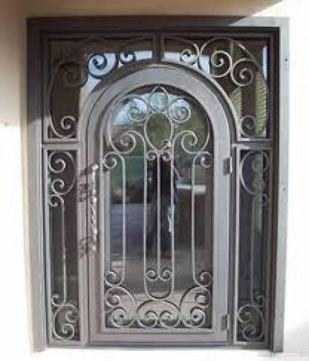 Herrer a y forja coyoac n - Puertas forja exterior ...