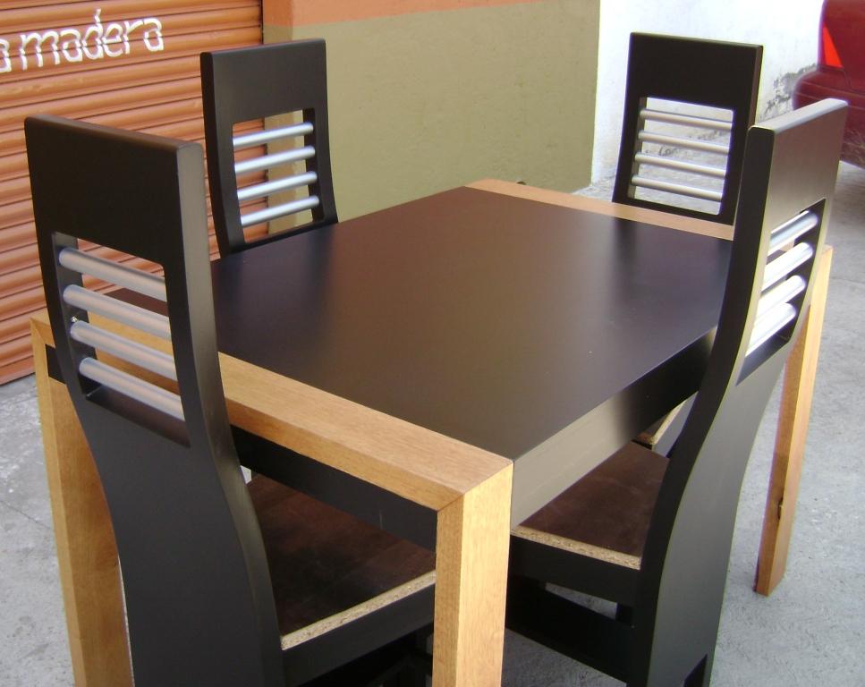 mobiliario en madera y aluminio pachuca