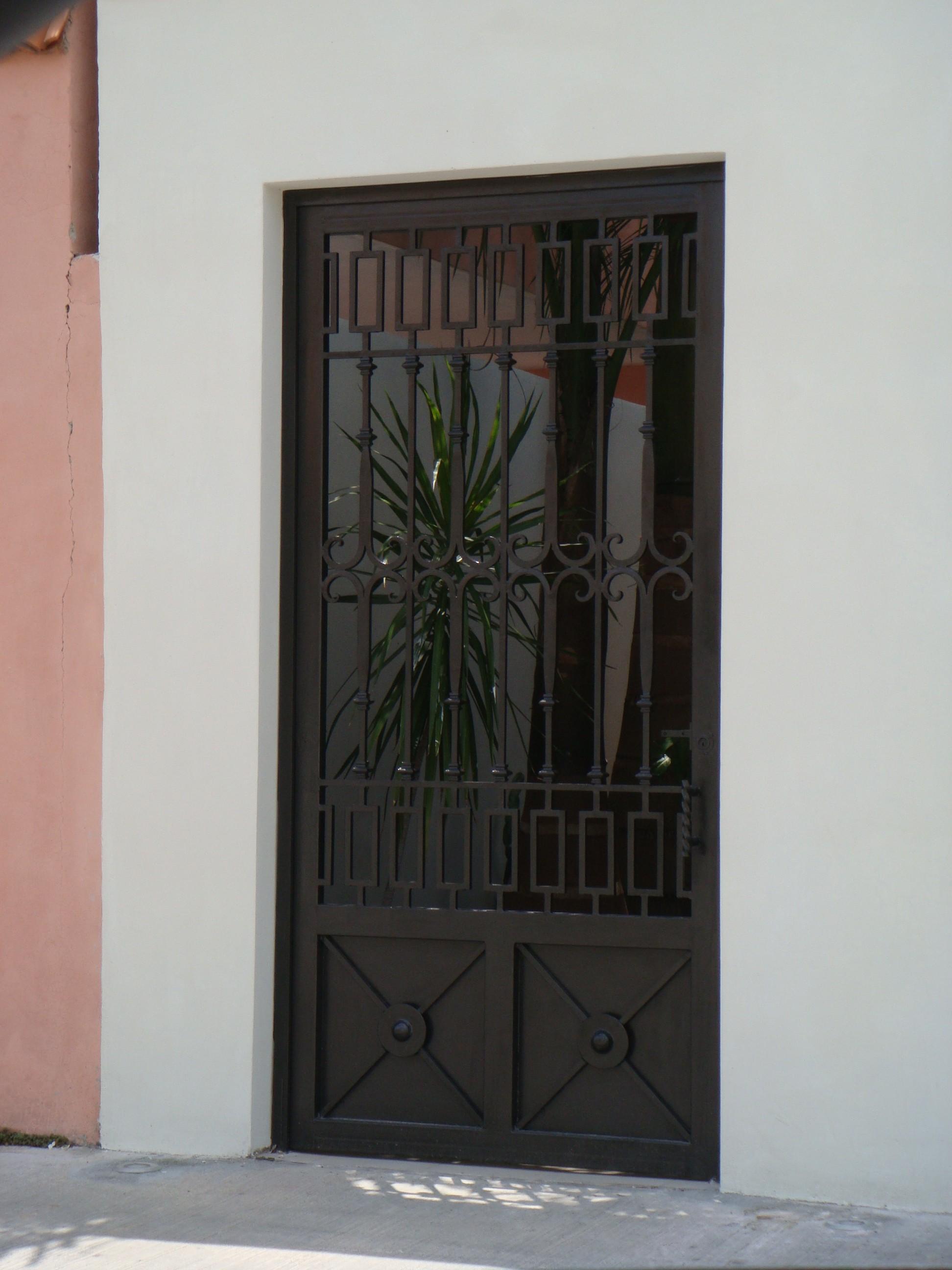 puertas para ba o de herreria
