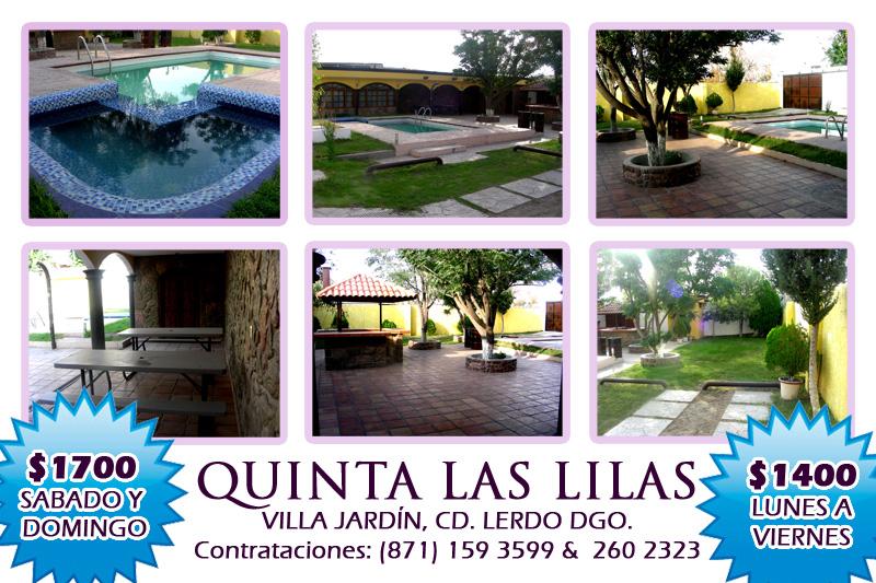 Quinta las lilas en lerdo lerdo for Hotel villa jardin lerdo