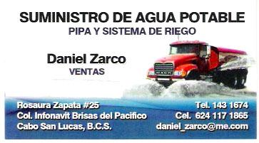 Suministro De Agua Potable (Pipa) Cabo San Lucas