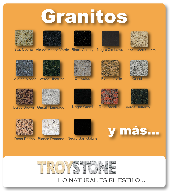 Troystone m rmoles y granitos tlaquepaque for Clases de marmoles y granitos